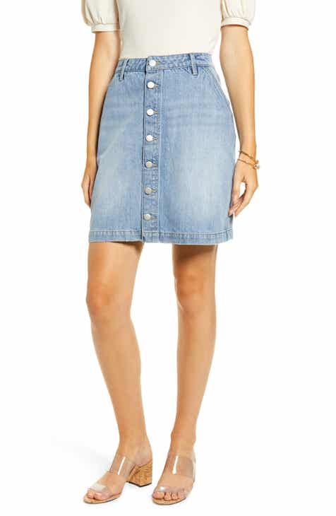 available best site luxuriant in design Women's Denim Skirts | Nordstrom