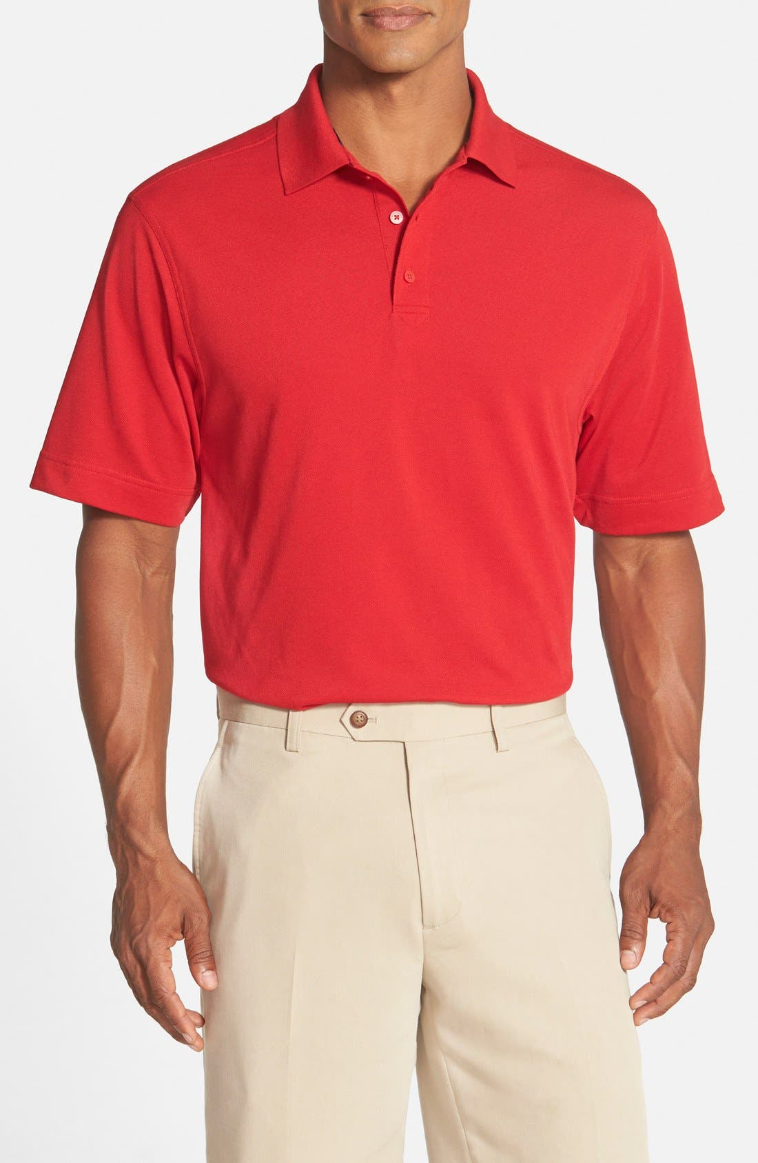 Cutter & Buck 'Championship' Classic Fit DryTec Golf Polo (Online Only)