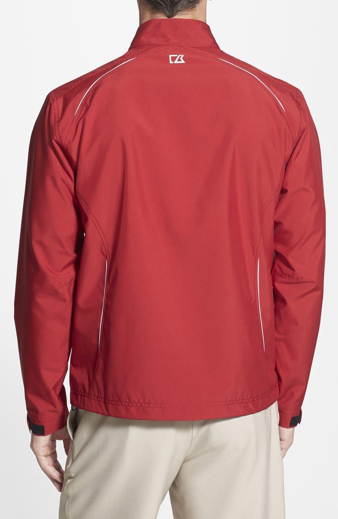 Alternate Image 2  - Cutter & Buck Kansas City Chiefs - Beacon WeatherTec Wind & Water Resistant Jacket