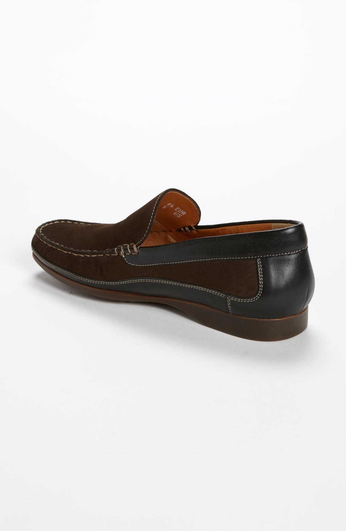 'Baduard' Loafer,                             Alternate thumbnail 2, color,                             Brown Nubuck/ Brown Suede