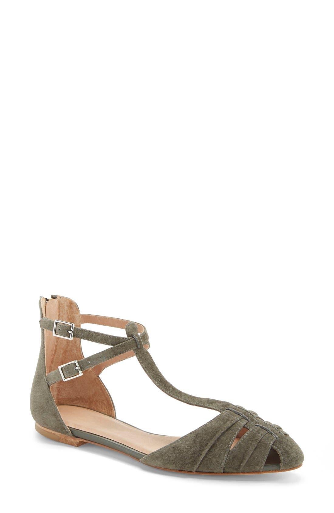 Alternate Image 1 Selected - Joie 'Agnes' T-Strap Sandal (Women)