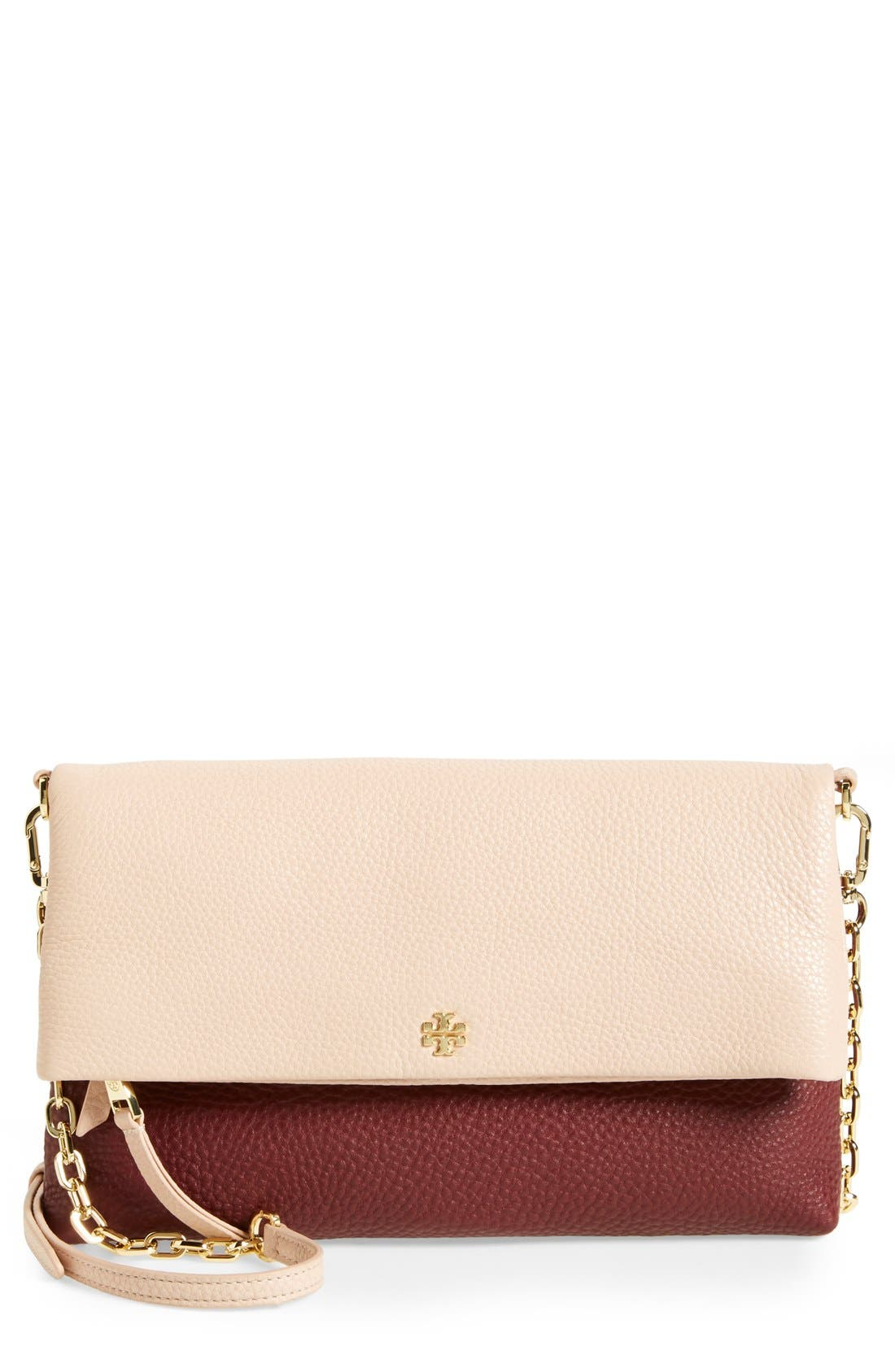 Alternate Image 1 Selected - Tory Burch Foldover Crossbody Bag