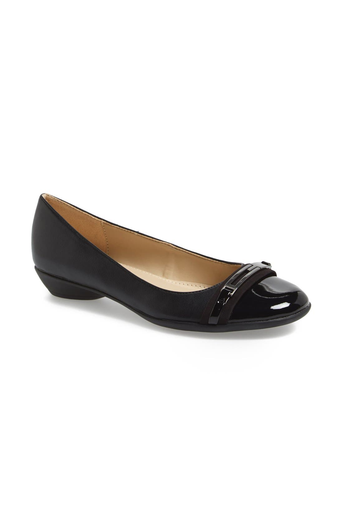 Alternate Image 1 Selected - Naturalizer 'Helina' Flat (Women)