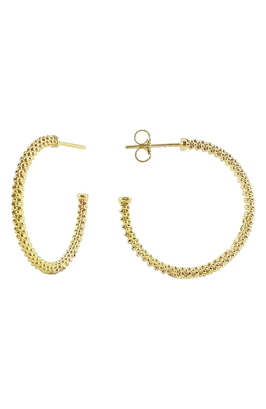 LAGOS Caviar Hoop Earrings
