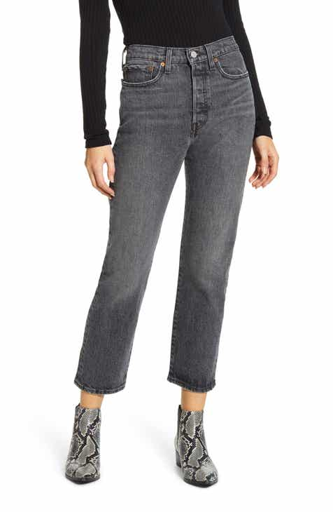 Levi's® Wedgie High Waist Straight Leg Jeans (Break a Leg)
