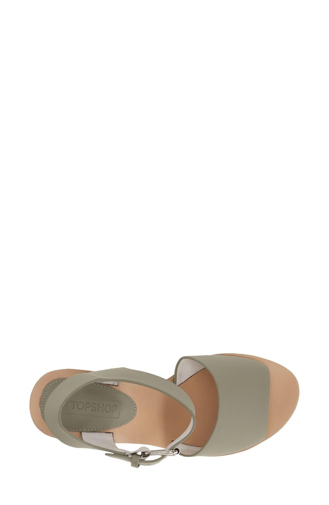 Alternate Image 3  - Topshop Platform Wedge Sandal (Women)