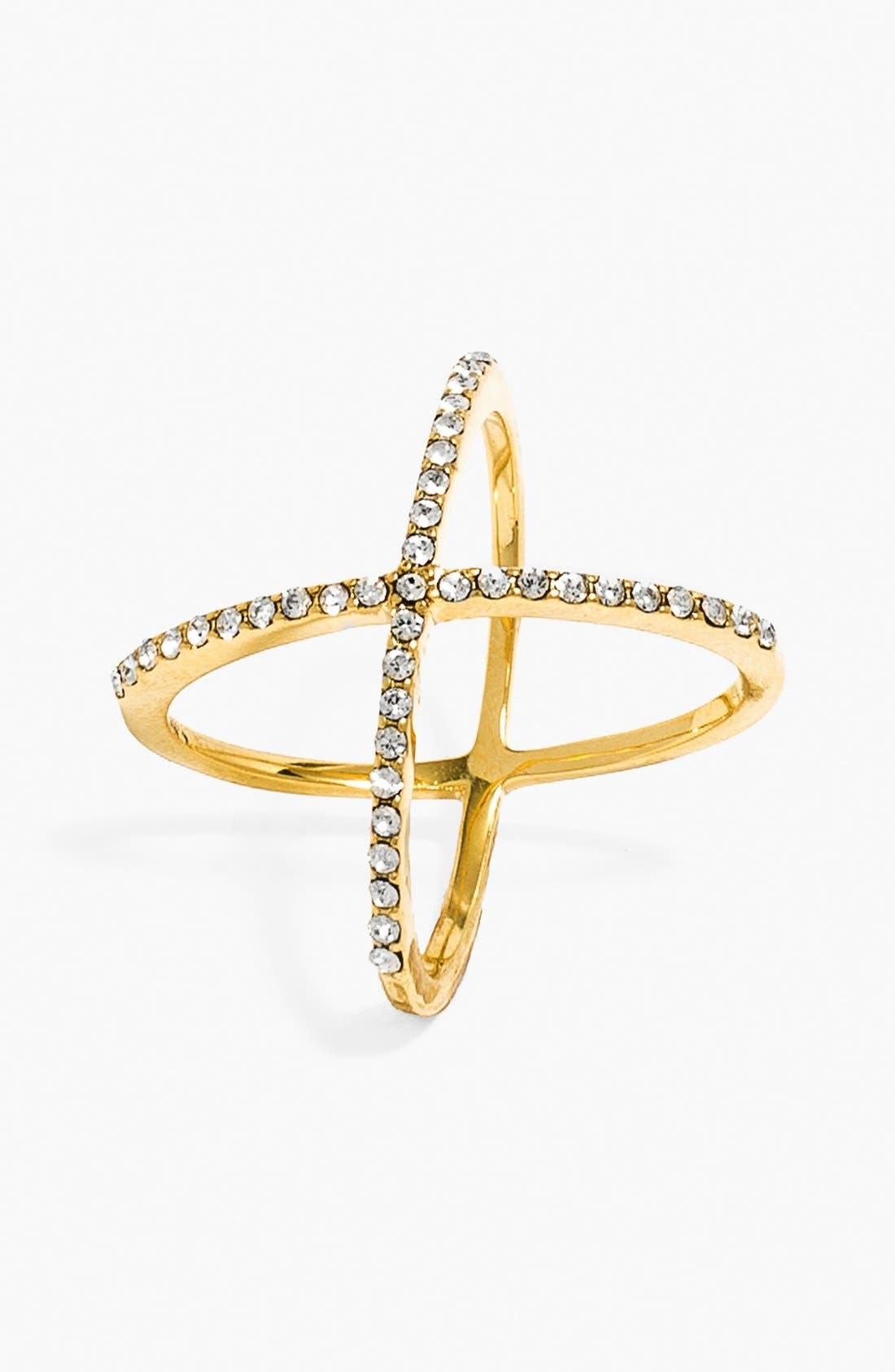 Main Image - BaubleBar 'Mason' Pavé Ring