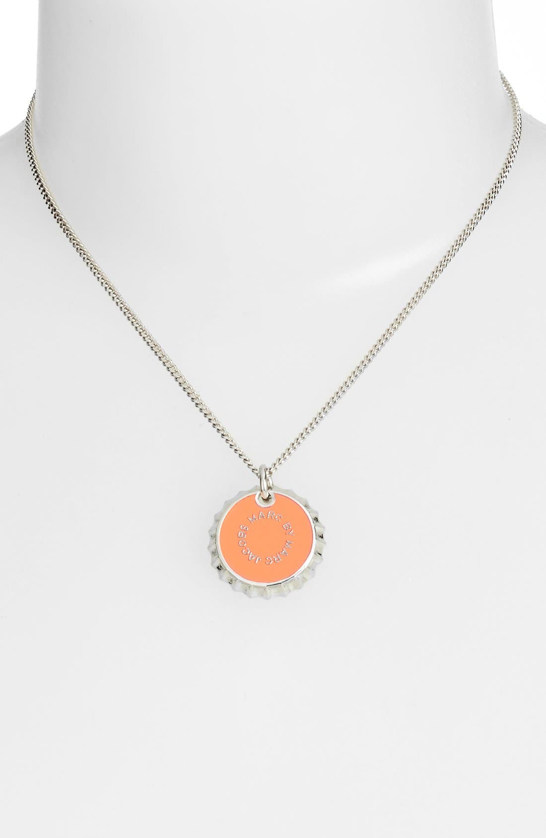 Alternate Image 2  - MARC BY MARC JACOBS 'Lost & Found' Bottle Cap Pendant Necklace