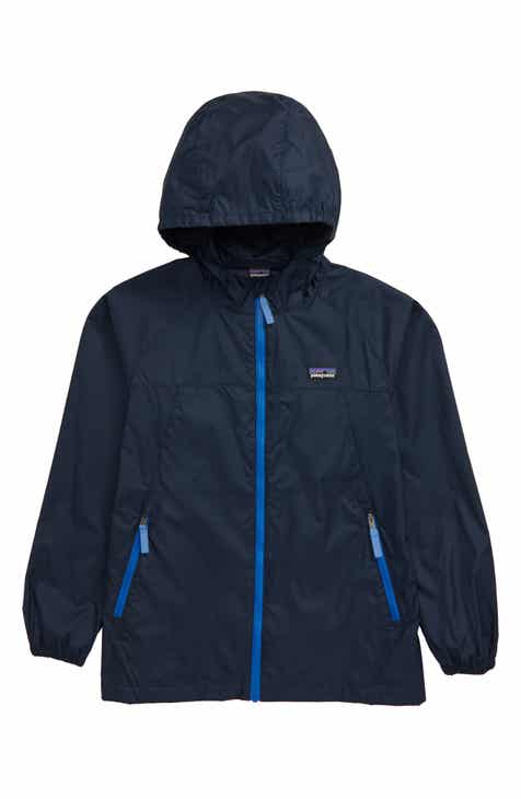 Patagonia Light & Variable™ Wind & Water Resistant Hooded Jacket (Little Boy & Big Boy)