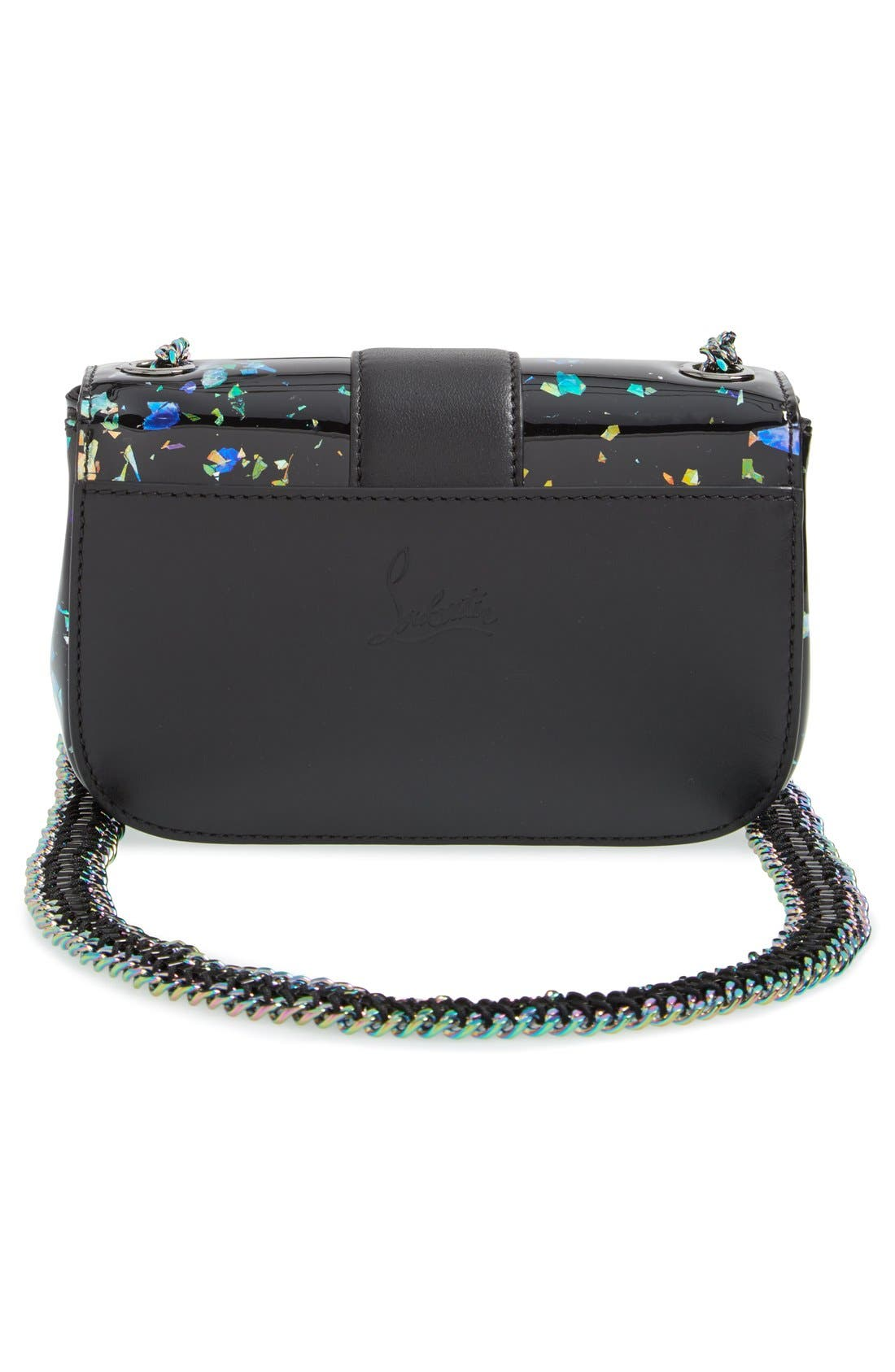 Alternate Image 3  - Christian Louboutin 'Sweety Charity' Patent Leather Shoulder Bag