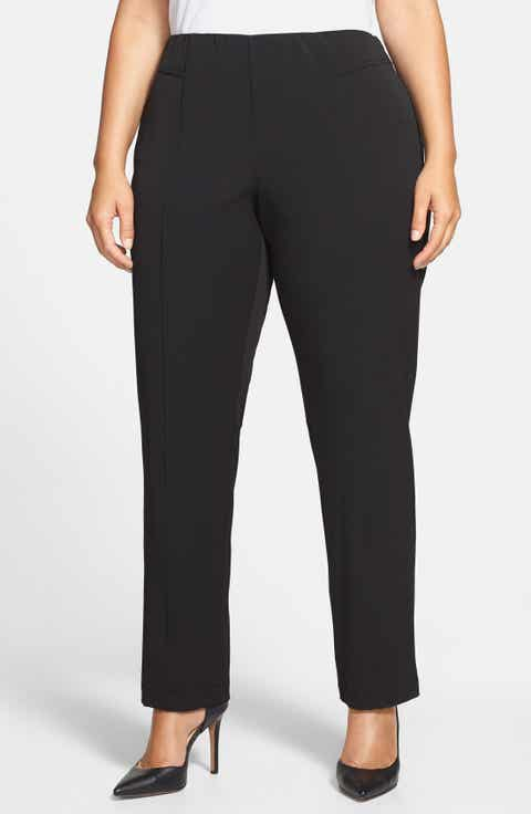 Vince Camuto Seam Detail Pants (Plus Size) Cheap