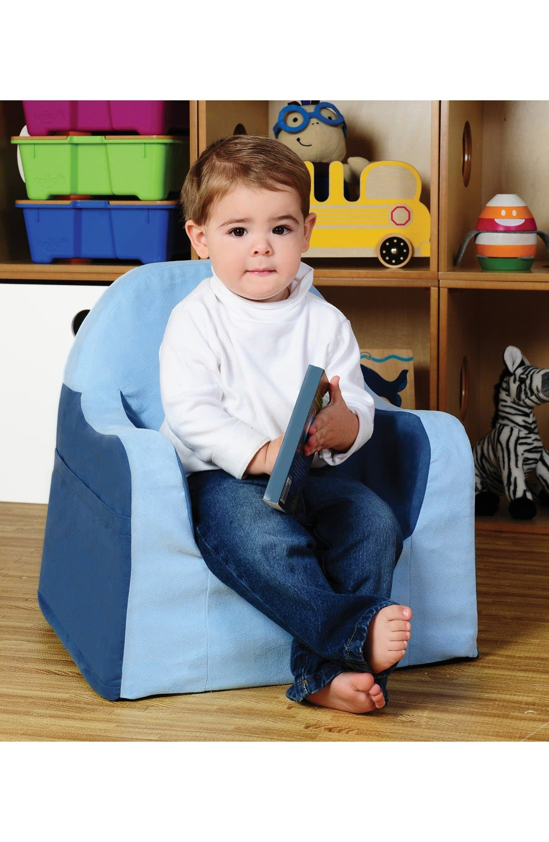 Alternate Image 2  - P'kolino 'Personalized Little Reader' Chair (Toddler)
