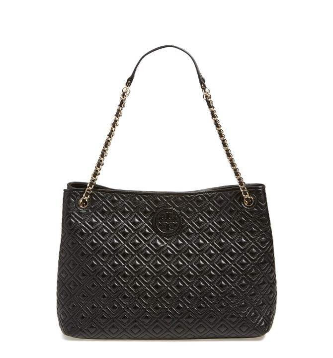 Tory Burch 'Marion' Diamond Quilted Leather Tote | Nordstrom : tory burch quilted - Adamdwight.com