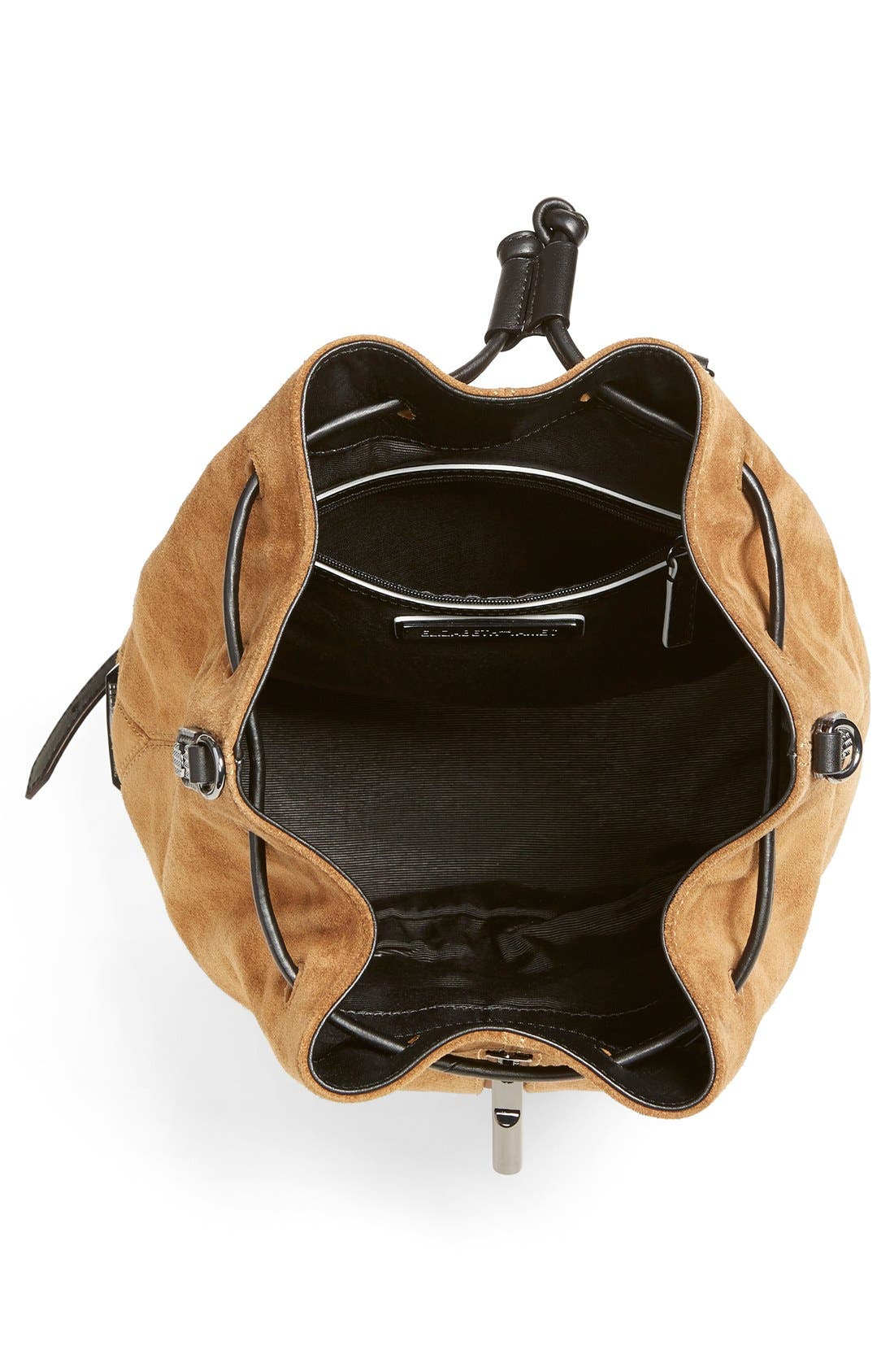 Alternate Image 4  - Elizabeth and James 'Cynnie' Suede Sling Backpack