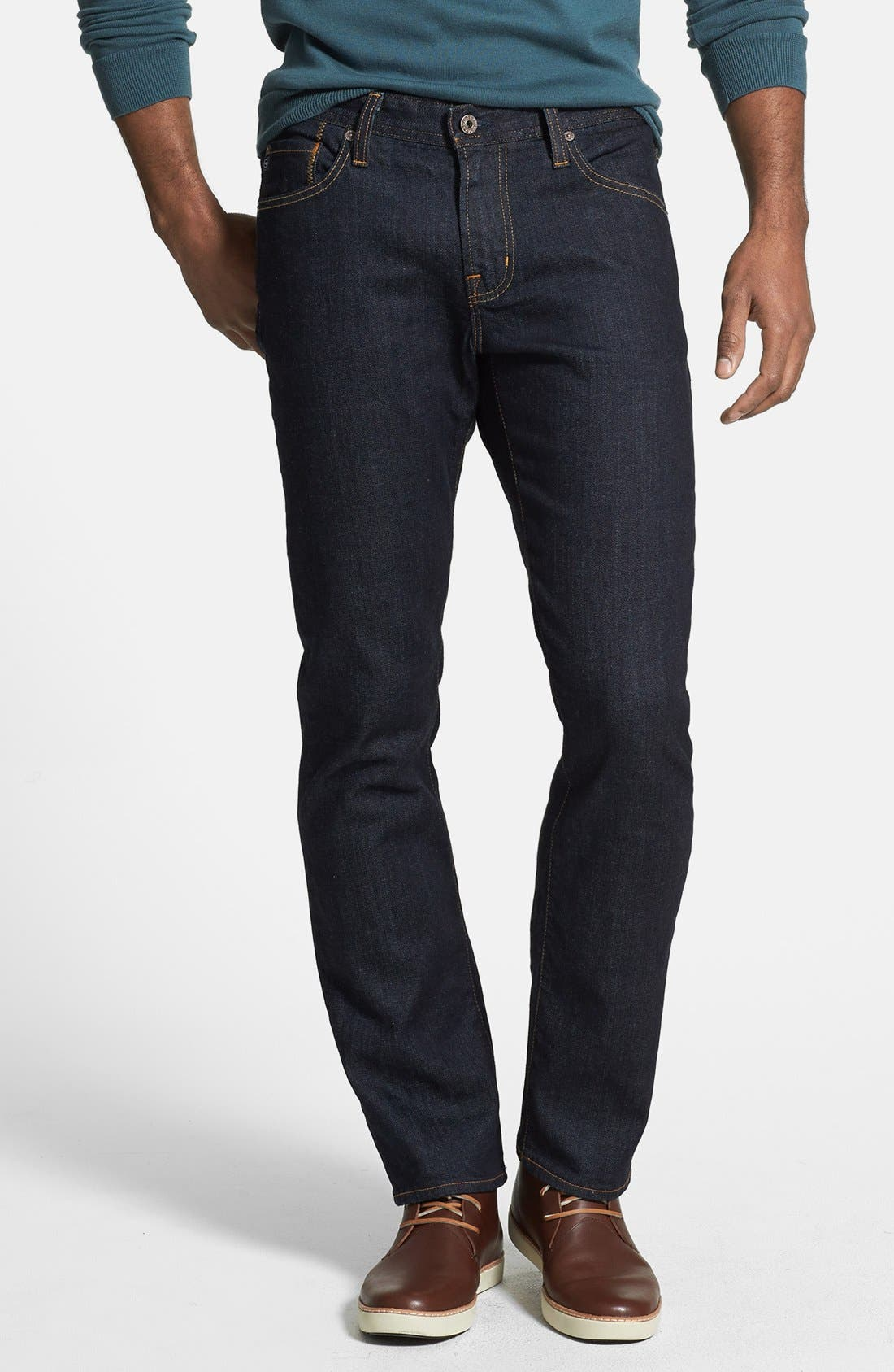 AG 'Graduate' Slim Straight Leg Jeans (Jack) (Regular & Tall)
