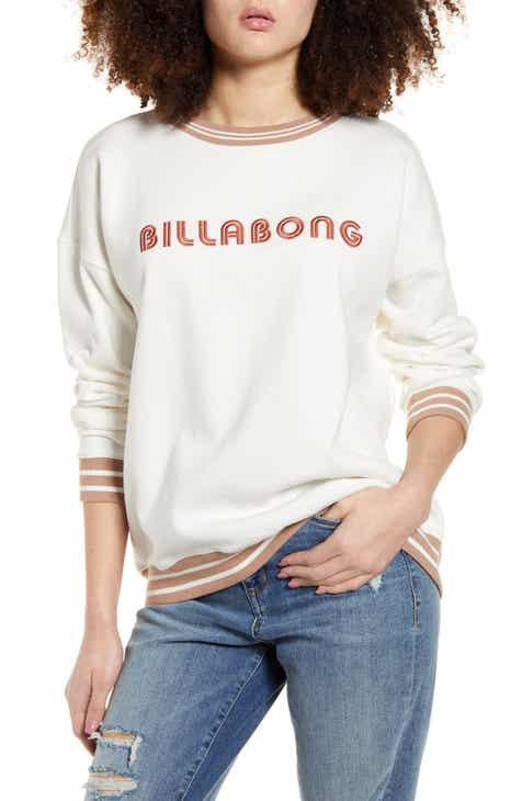Billabong Embroidered Sweatshirt