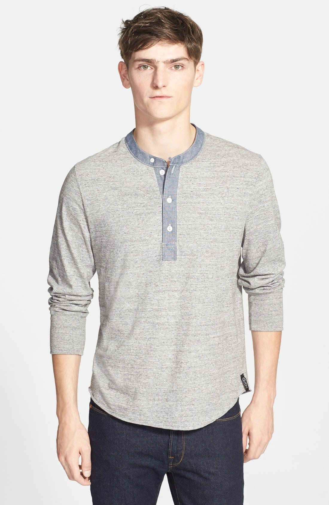 Main Image - Todd Snyder Classic Henley