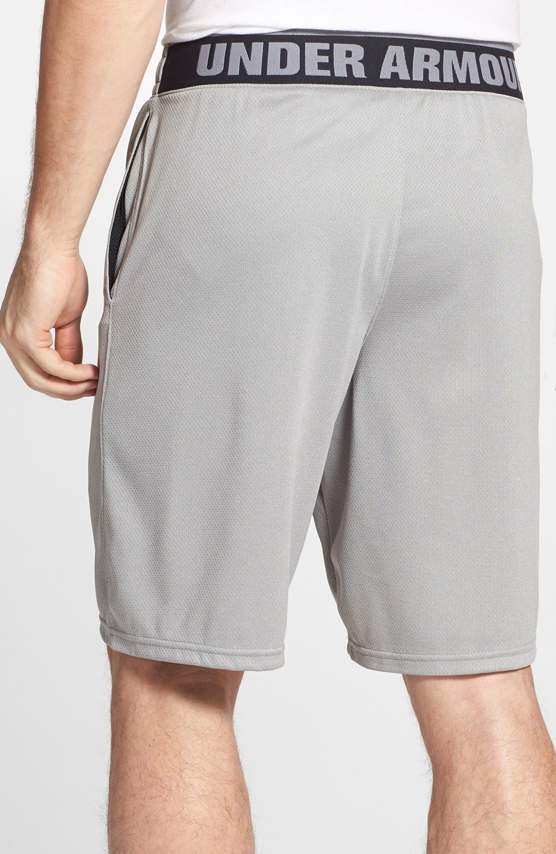 Alternate Image 2  - Under Armour 'Reflex' HeatGear® Mesh Knit Shorts