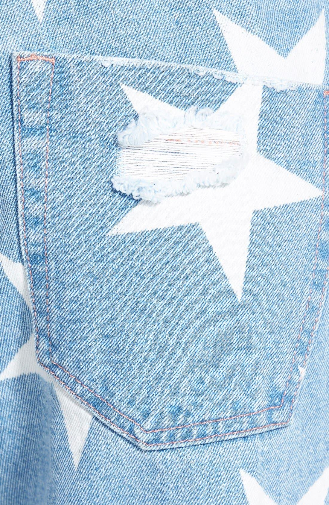 Alternate Image 4  - One Teaspoon 'Awesome Baggies' Boyfriend Jeans (Le Bonne)
