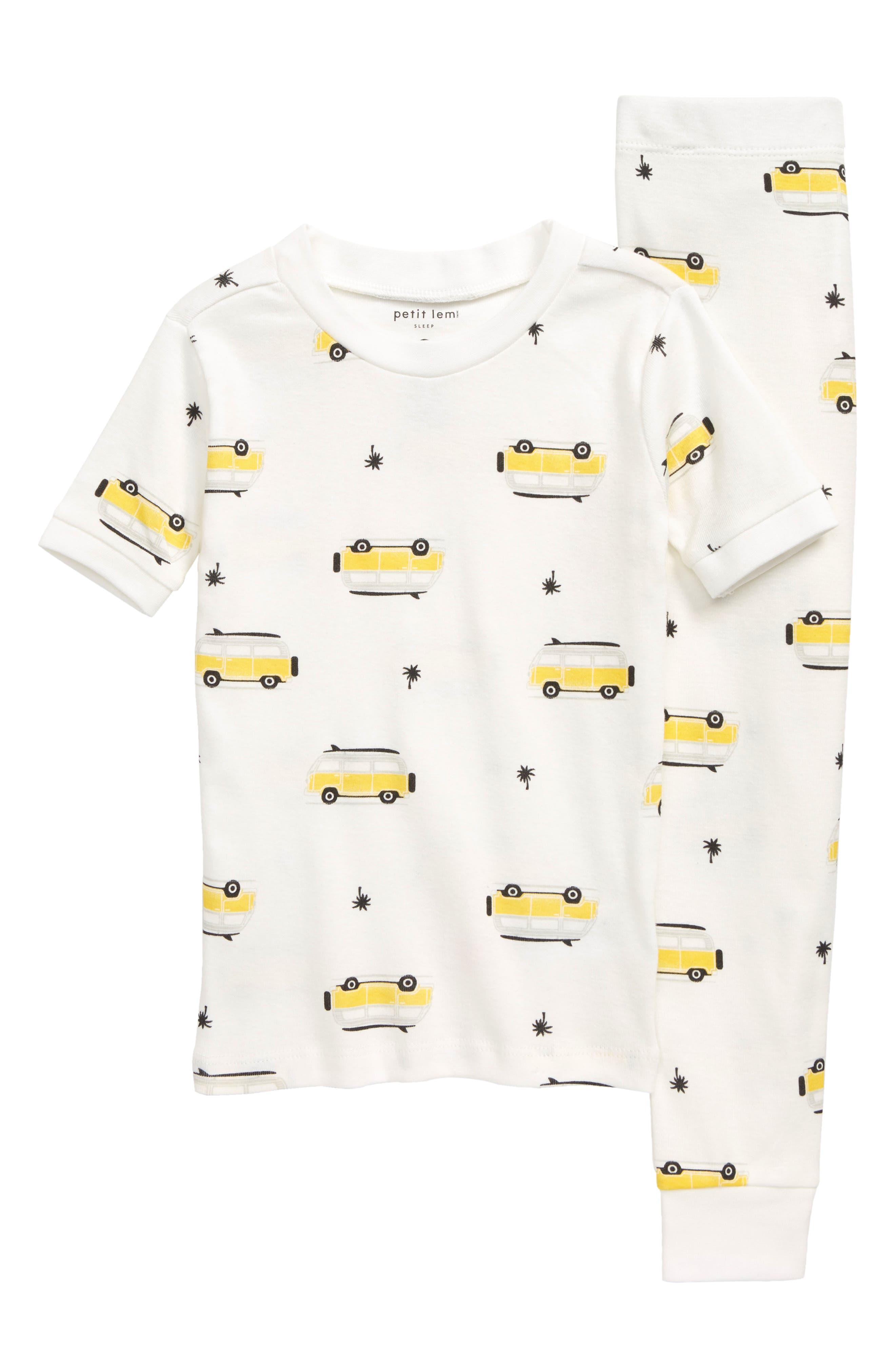 Petit Lem Polo Club Yellow Stripe Shirt