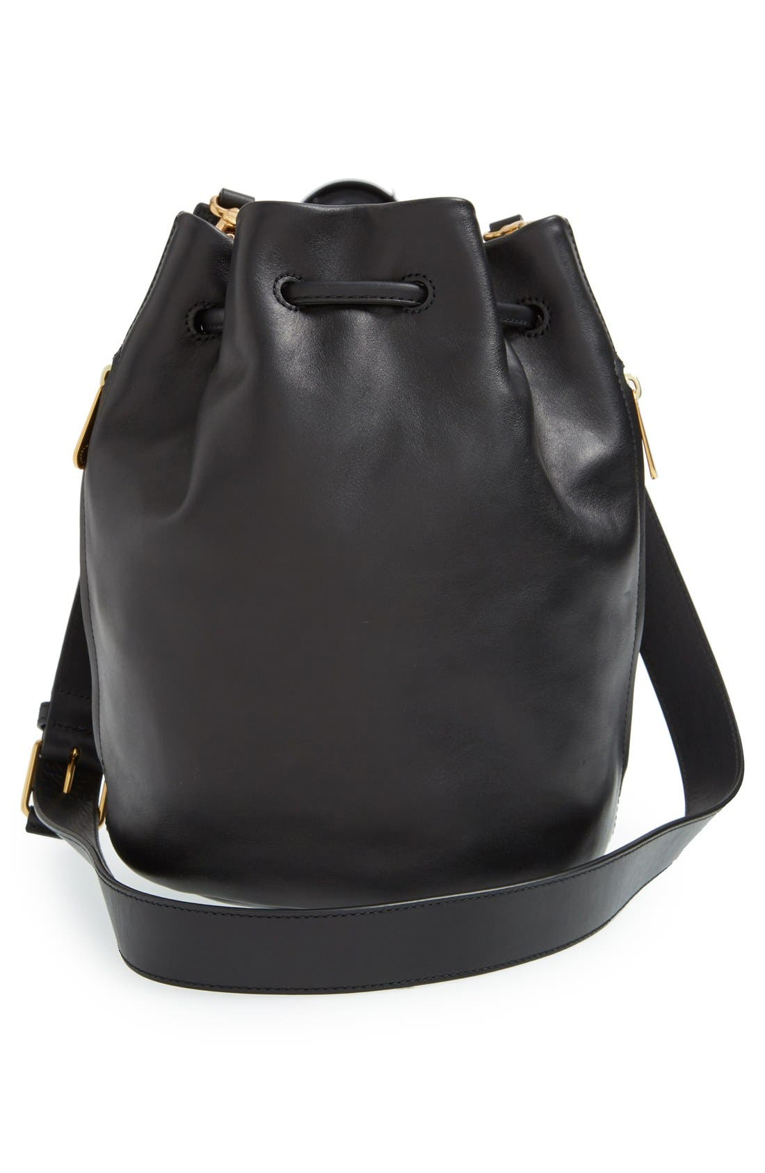 Alternate Image 3  - MARC BY MARC JACOBS 'Luna' Leather Drawstring Bucket Bag
