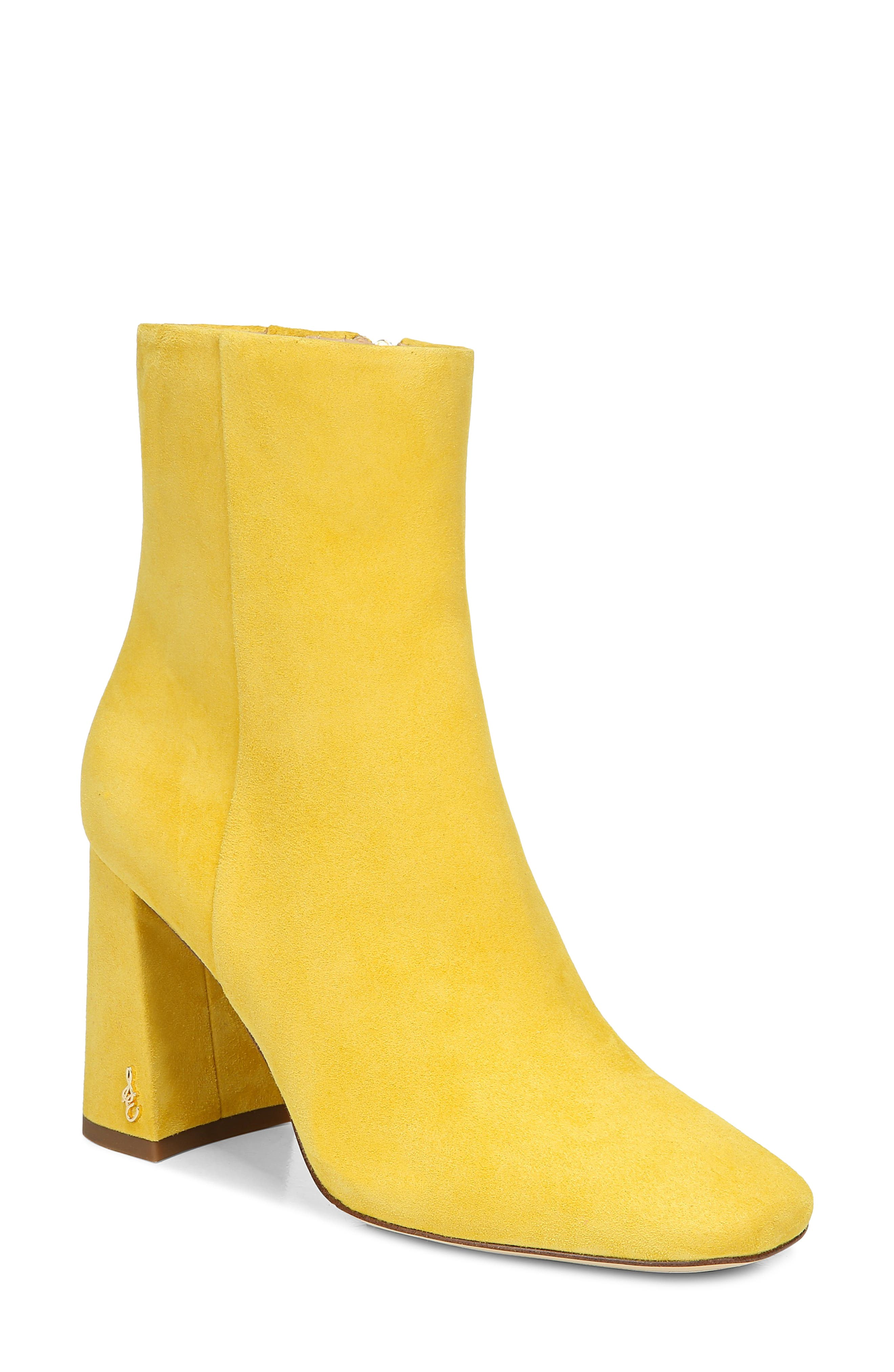 Women's Yellow Booties \u0026 Ankle Boots