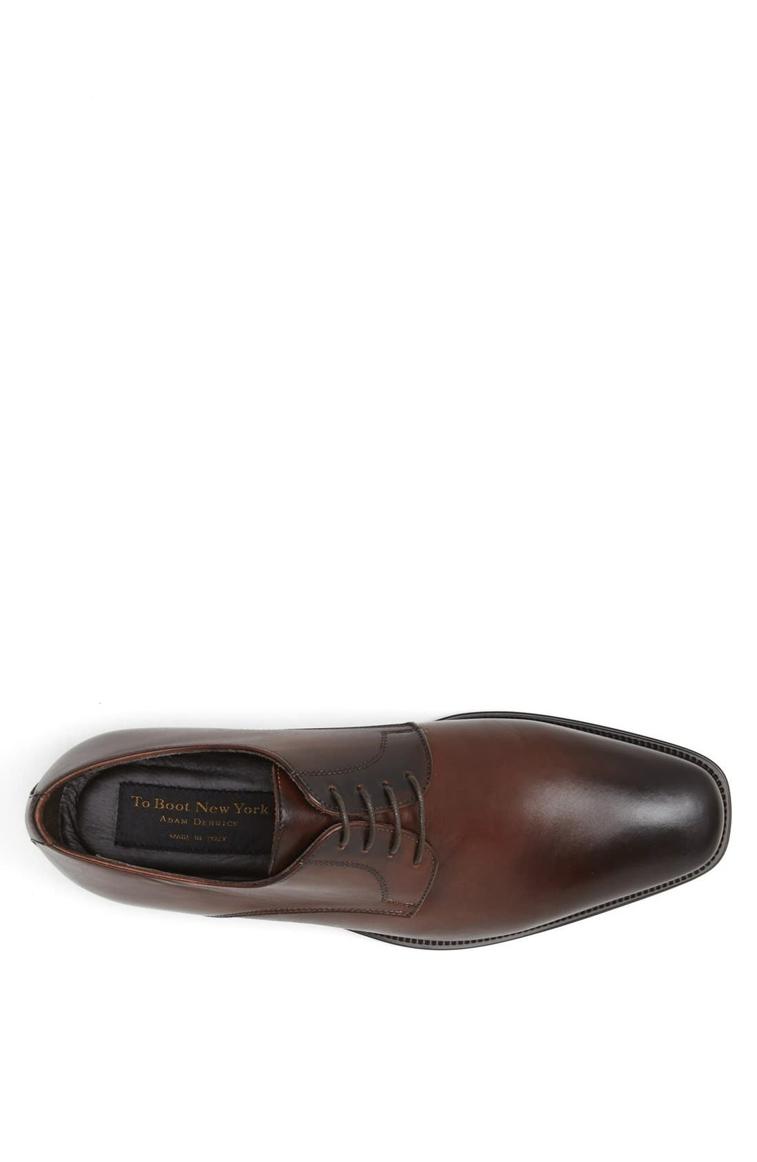 Alternate Image 5  - To Boot New York 'Felix' Plain Toe Derby (Men)