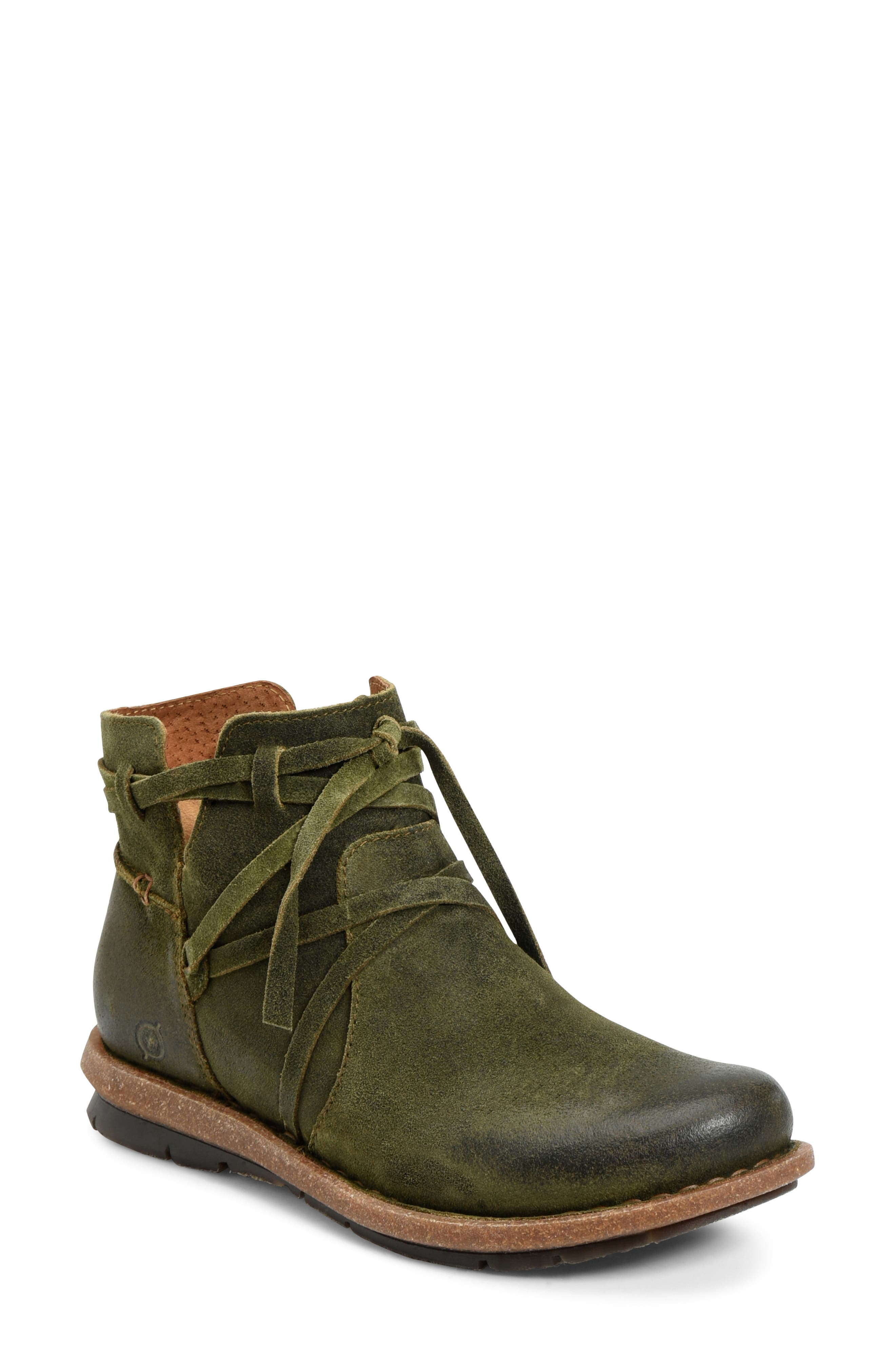 Women's Green Booties \u0026 Ankle Boots