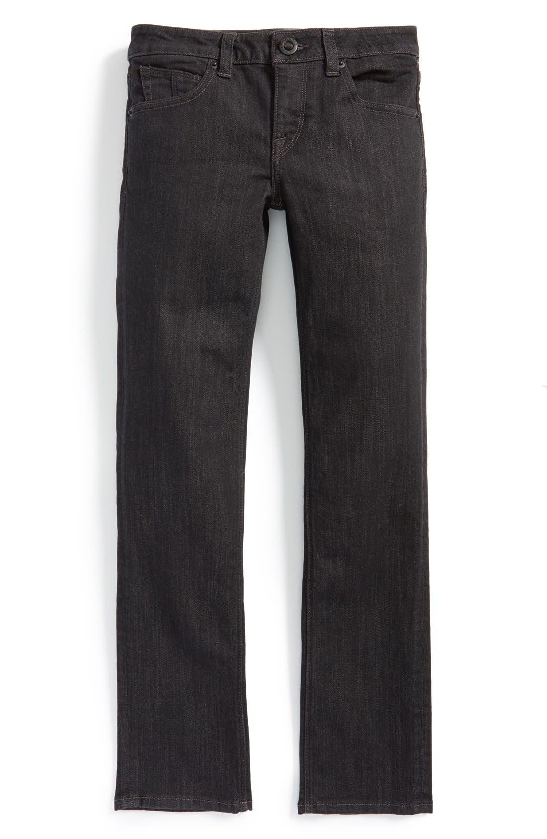 Volcom 'Vorta' Slim Fit Jeans (Toddler Boys & Little Boys)