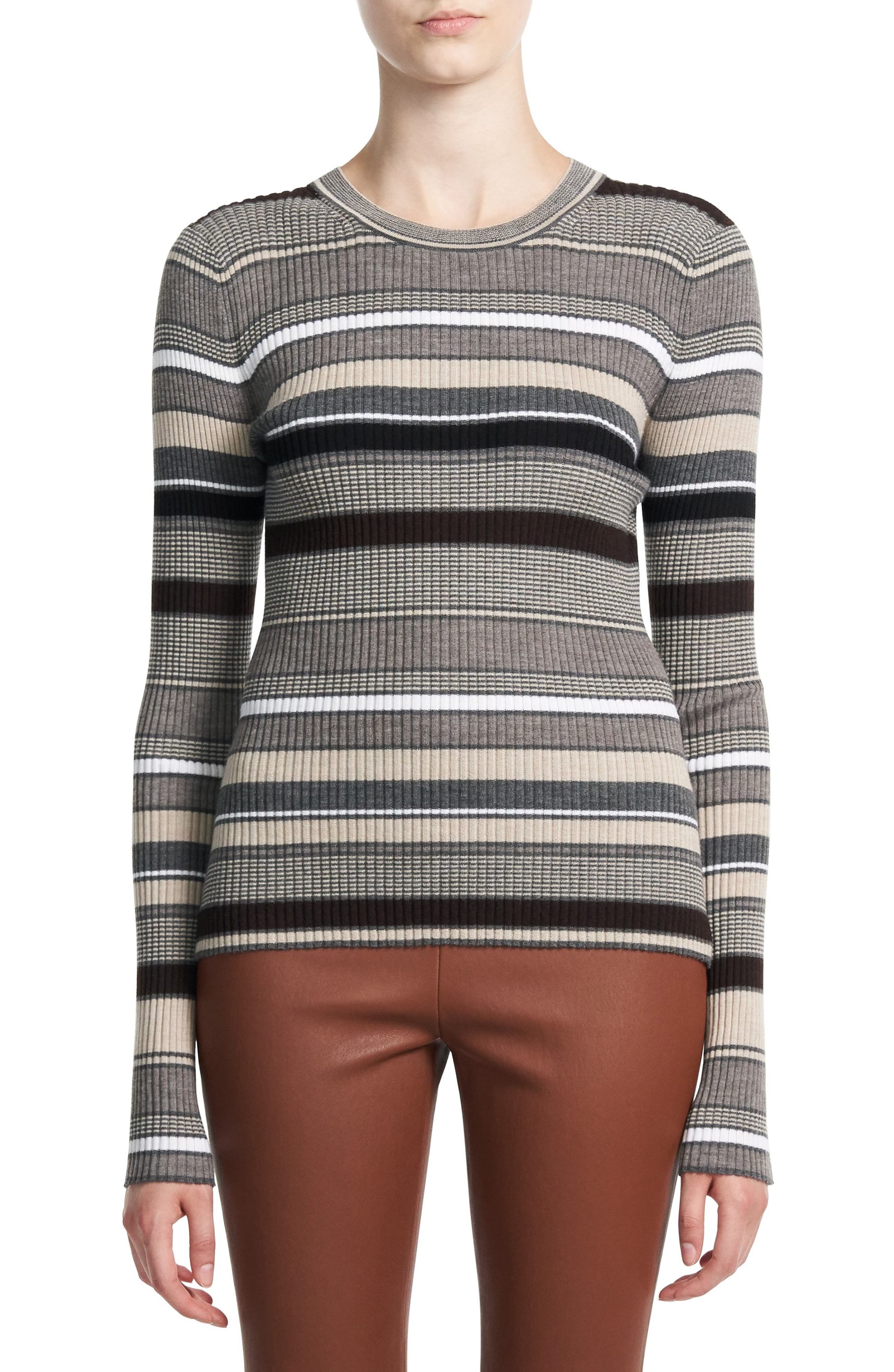Theory Womens Crew Neck Pullover F