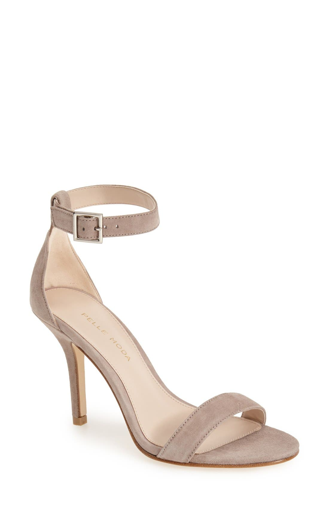Alternate Image 1 Selected - Pelle Moda 'Kacey' Ankle Strap Sandal