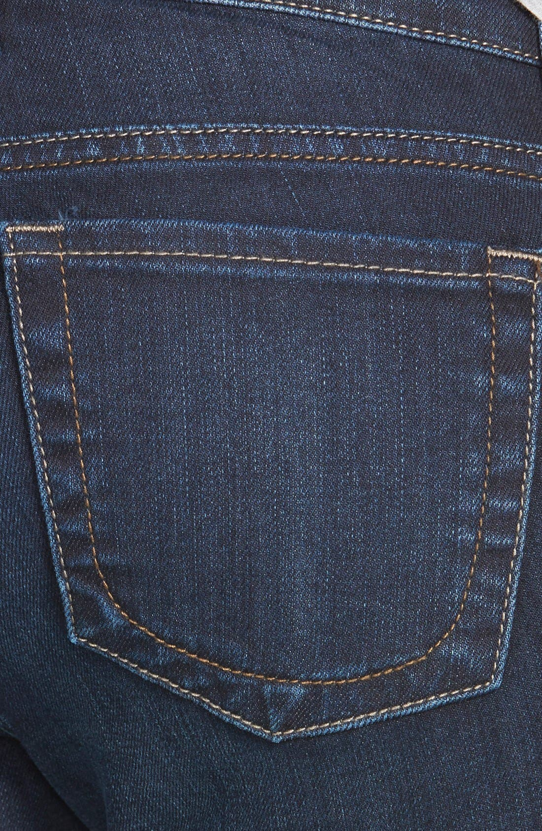 'Natalie' Stretch Bootcut Jeans,                             Alternate thumbnail 3, color,                             Beneficial