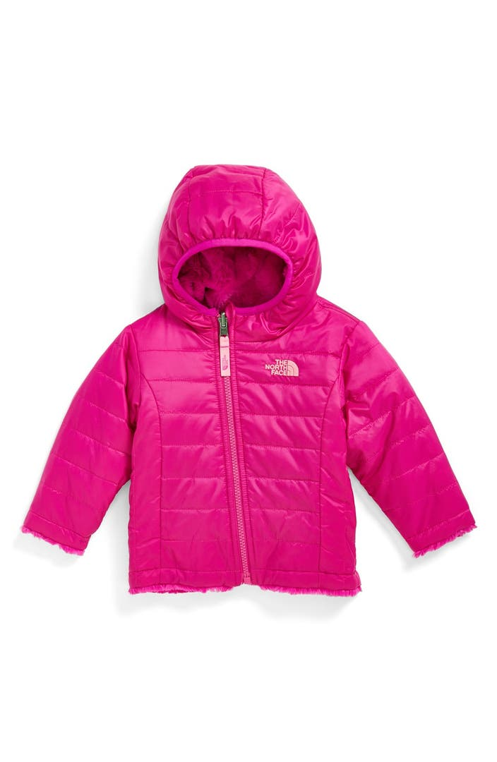 The North Face Mossbud Reversible Jacket Baby Girls -7664