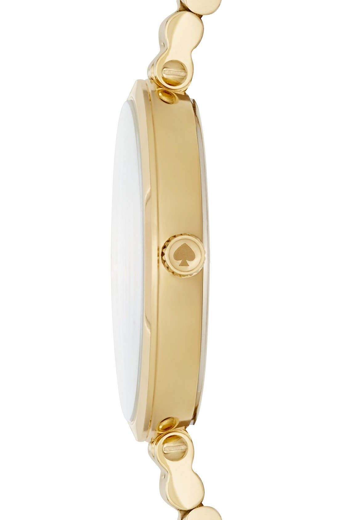 Alternate Image 3  - kate spade new york holland bracelet watch, 34mm