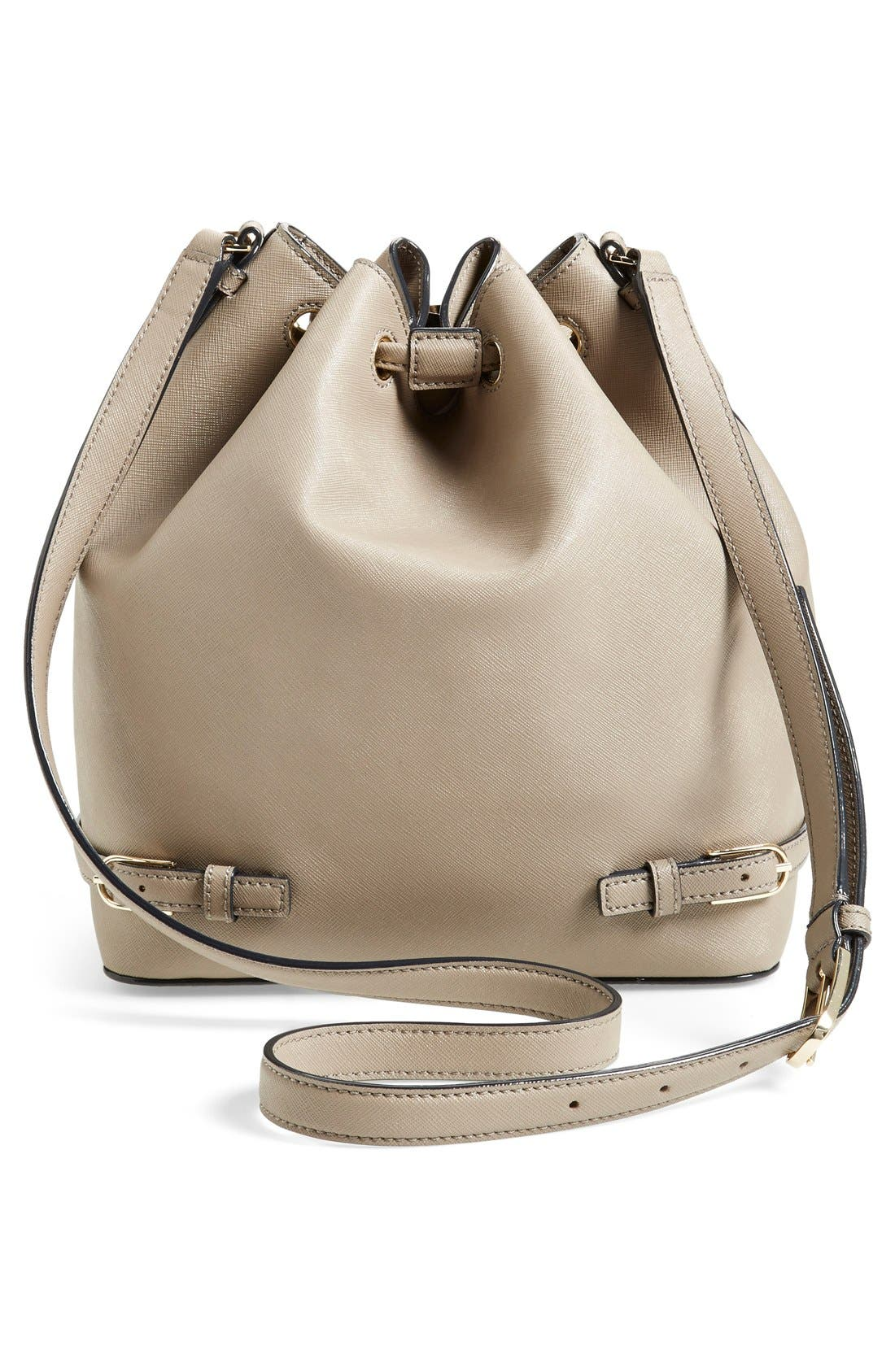 Alternate Image 3  - Tory Burch 'Robinson' Saffiano Leather Bucket Bag