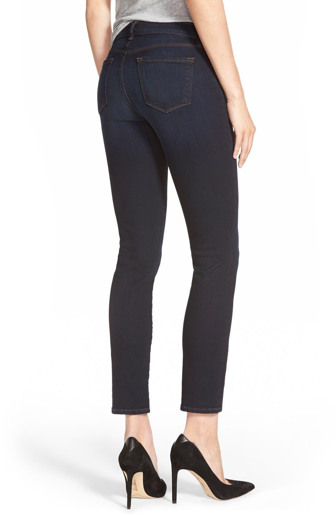 Alternate Image 4  - J Brand Mid Rise Skinny Jeans (Embrace)