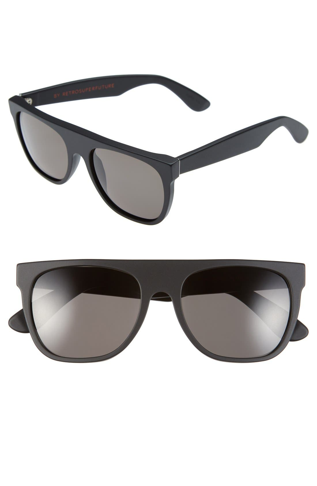 Alternate Image 1 Selected - SUPER by RETROSUPERFUTURE® 'Flat Top' 55mm Retro Sunglasses