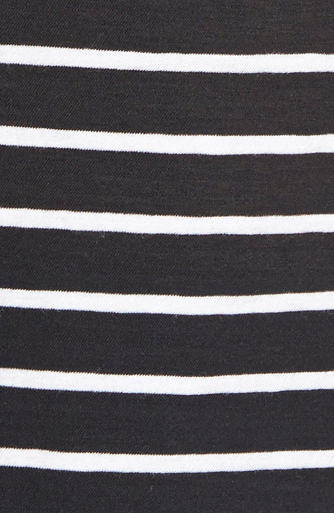 Alternate Image 3  - James Perse Classic Stripe Tee