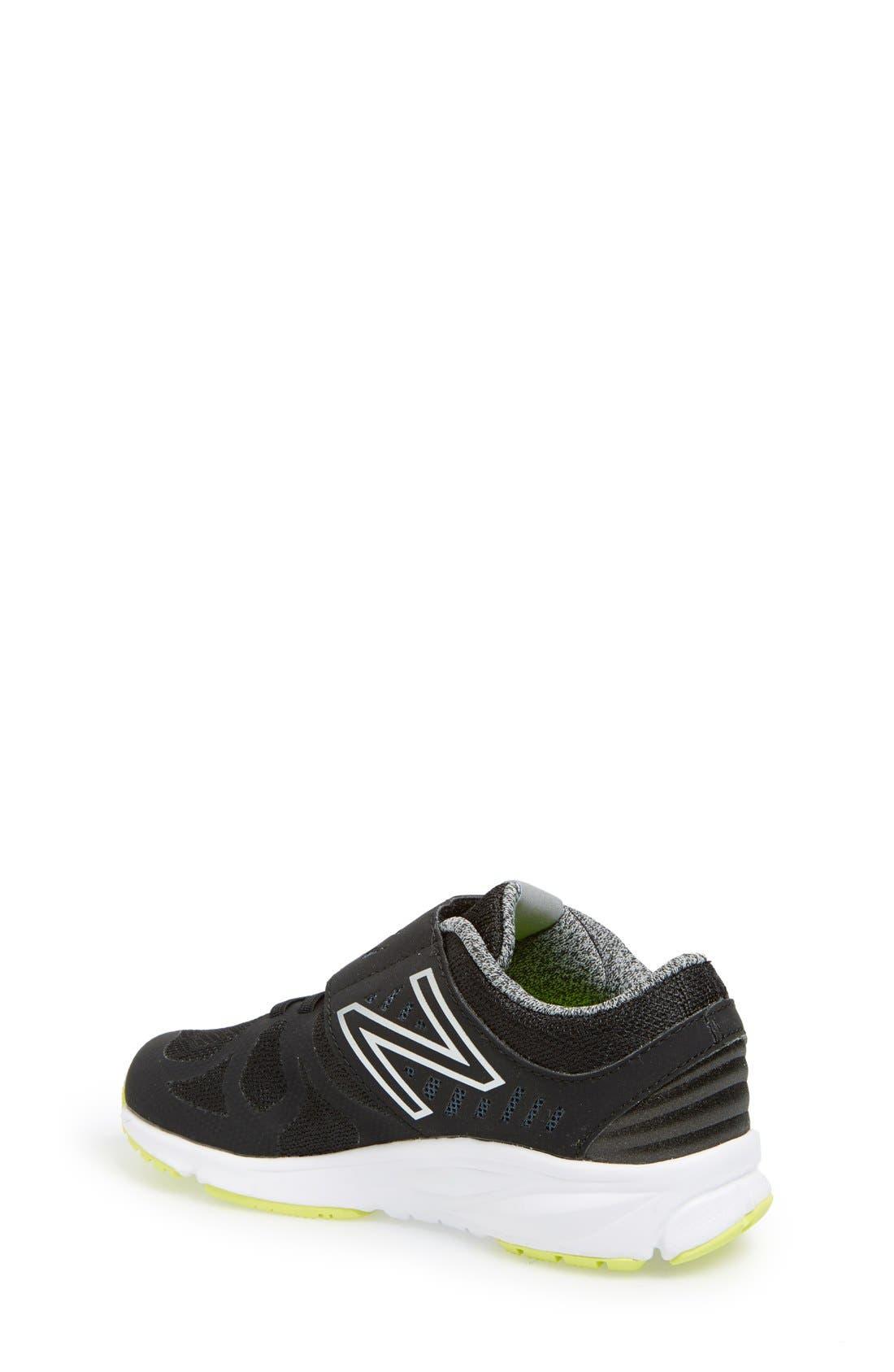 'Vazee Rush 200' Athletic Shoe,                             Alternate thumbnail 2, color,                             Black
