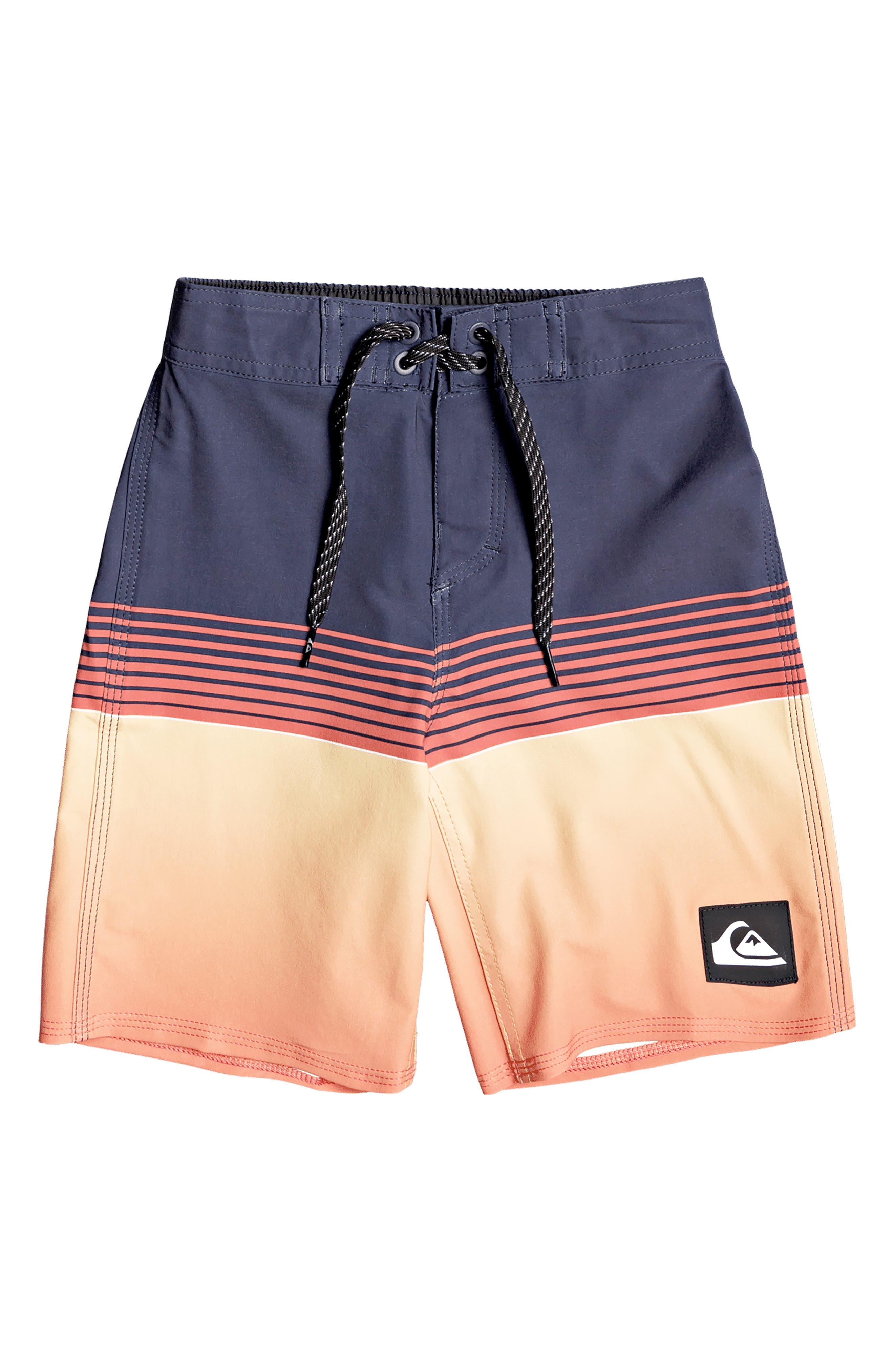 Quiksilver Boys Little Tropical Brush Volley 14 Boardshort Swim Trunk