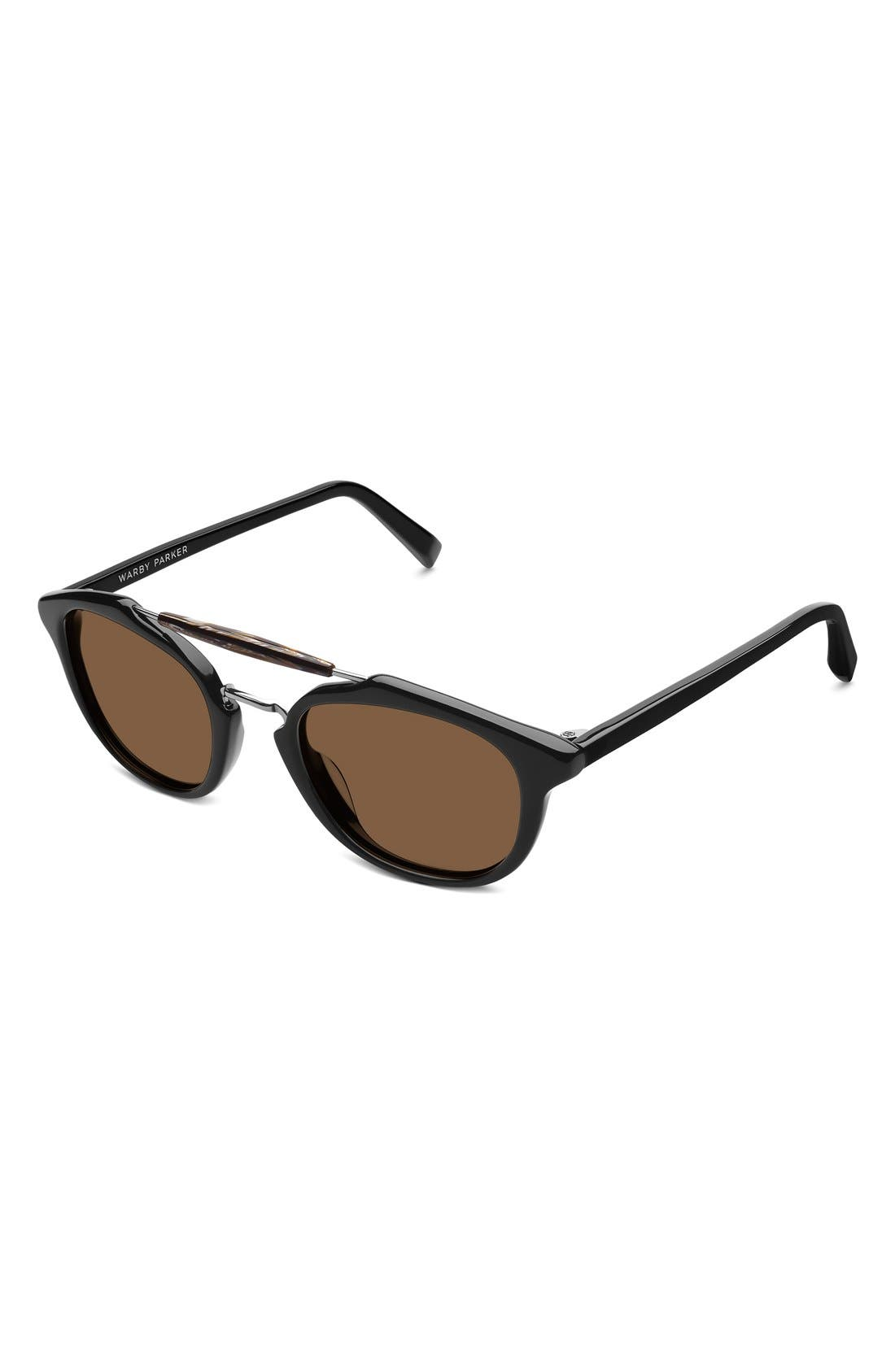 Alternate Image 2  - Warby Parker 'Teddy' 47mm Polarized Sunglasses