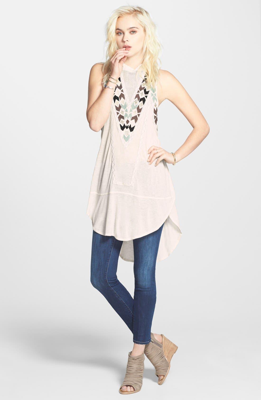 Alternate Image 9  - Paige Denim 'Skyline' Skinny Jeans (Raya) (Nordstrom Exclusive)