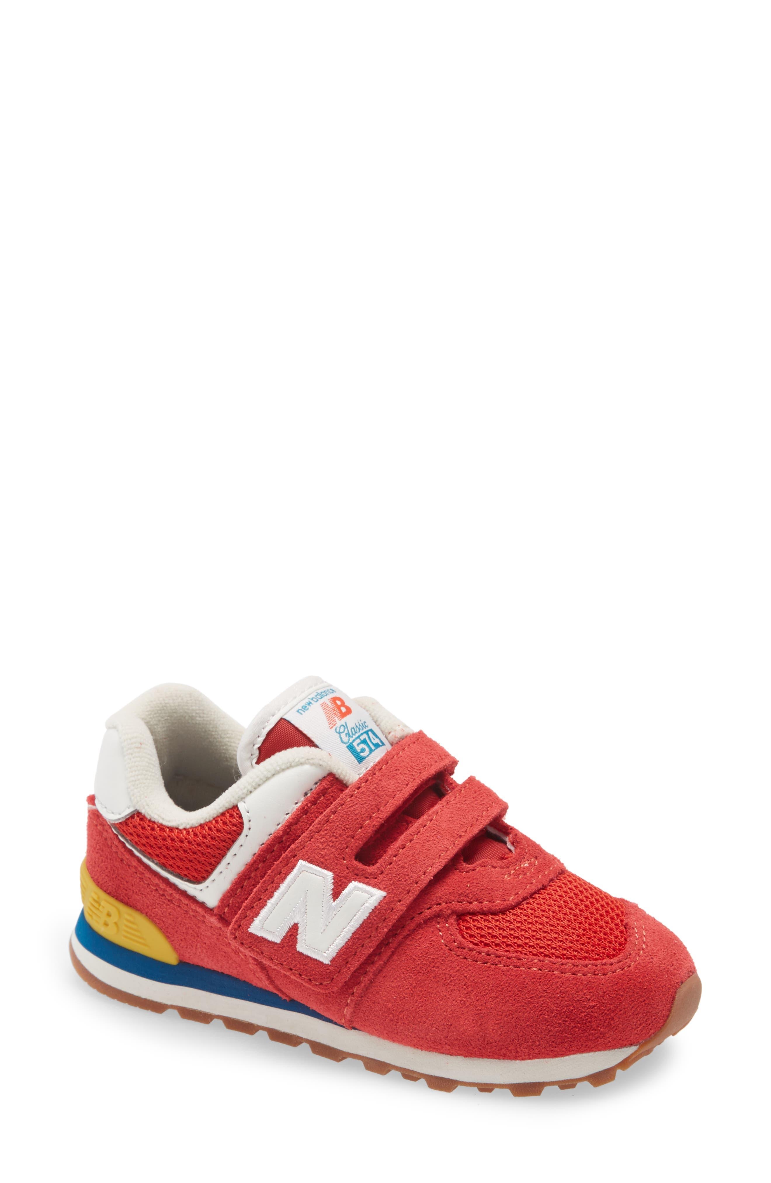 red new balance kids