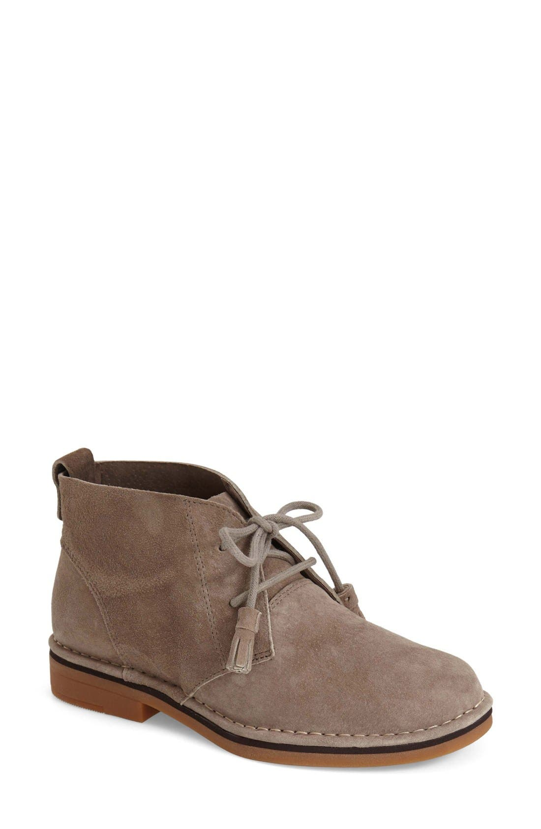 'Cyra Catelyn' Chukka Boot,                             Main thumbnail 1, color,                             Taupe Suede