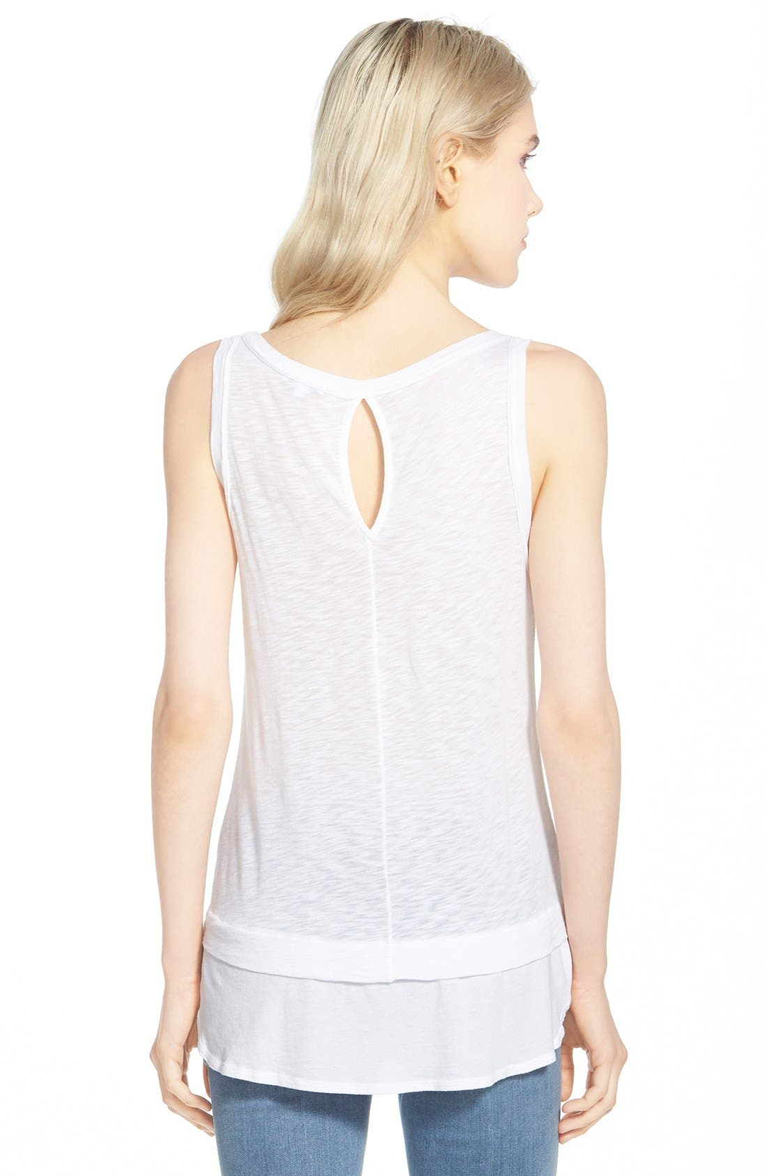 Alternate Image 2  - Splendid Slub Layer Tank