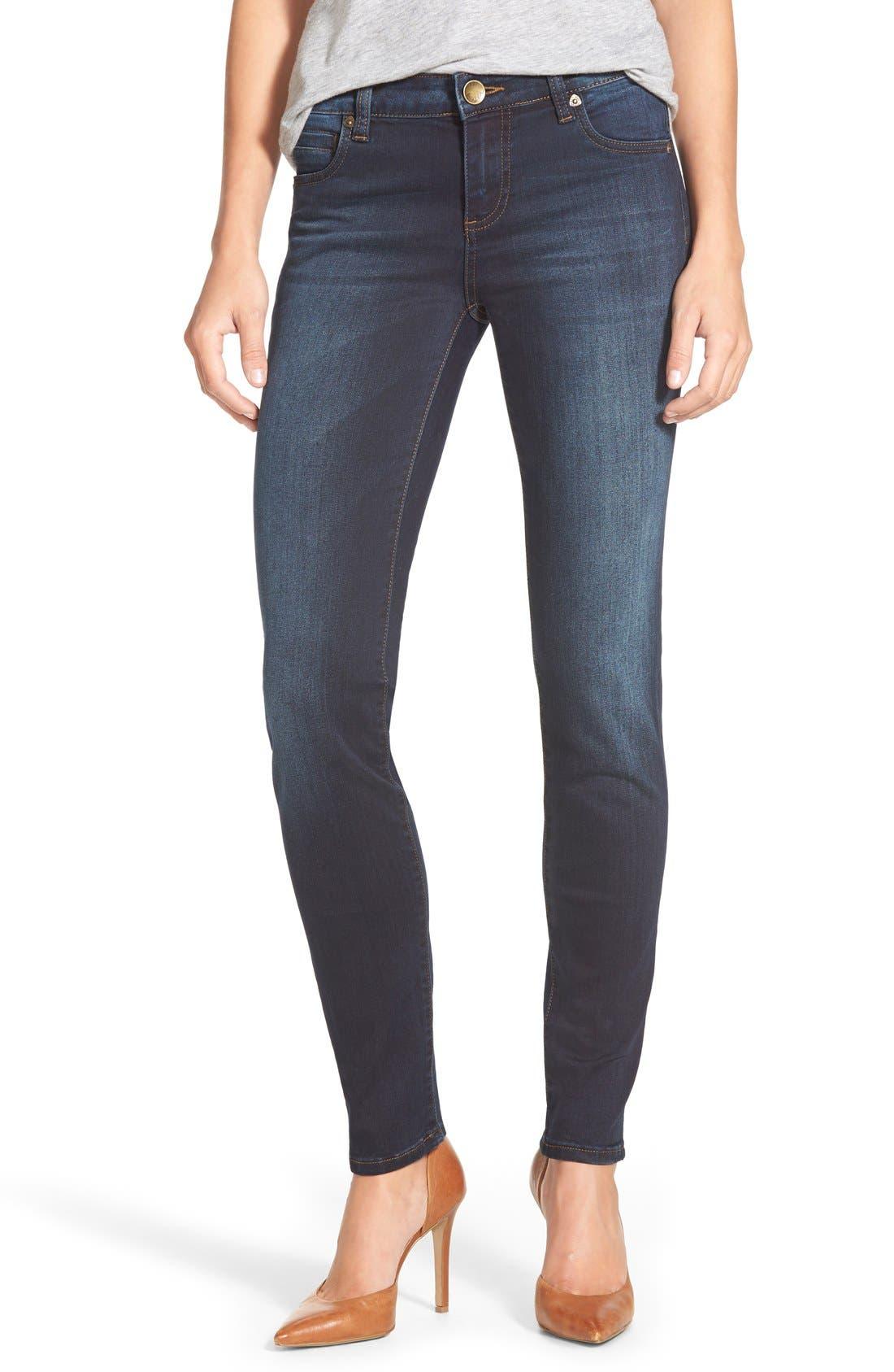 'Diana' Stretch Skinny Jeans,                         Main,                         color, Breezy