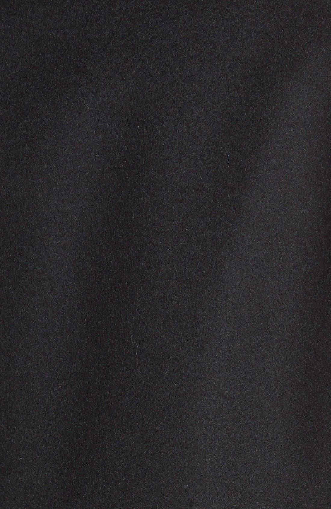 Alternate Image 3  - Kristen Blake Single Breasted Wool Blend Coat (Regular & Petite)