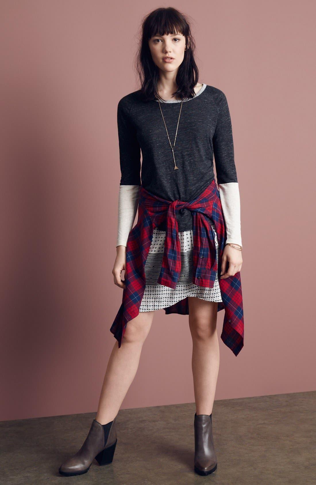 Alternate Image 5  - Madewell 'Edina Plaid' Oversize Boyshirt