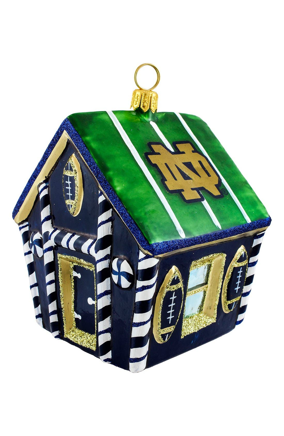 Alternate Image 1 Selected - Joy to the World Collectibles 'Collegiate Gingerbread House' Ornament