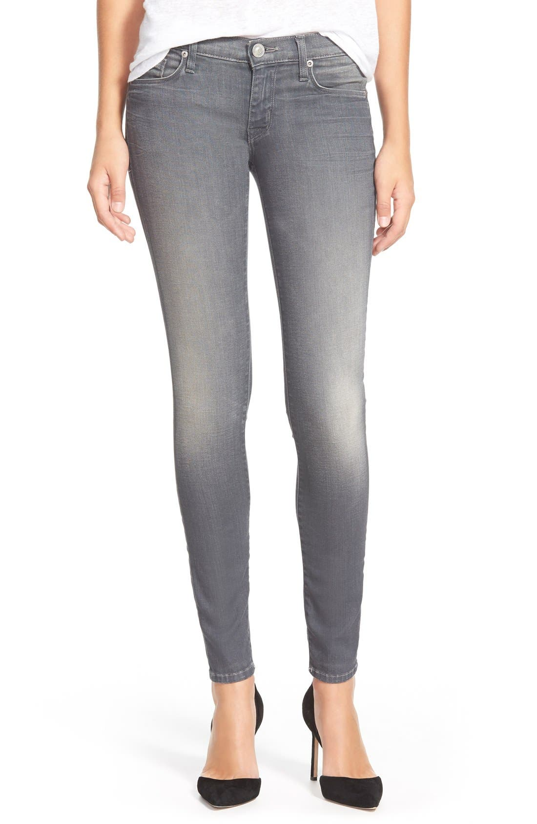 Alternate Image 1 Selected - Hudson Jeans 'Krista' Ankle Skinny Jeans (Wreckless)